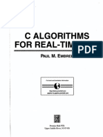 C Algorithms for Real Time DsP (1995-Scanned)-P Embree