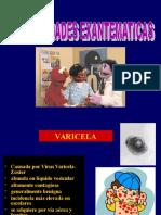 Enfermedades Exantemáticas en Niños