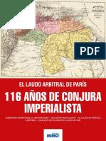 116 Años de Conjura Imperialista - Encarte