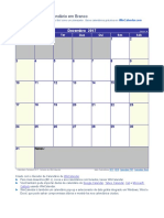Calendario Dezembro 2017