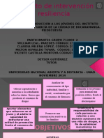 Proyecto de Intervencion Resiliencia. Final 4pptx 2