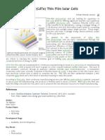 Cadmium Telluride (CdTe) Thin Film Solar Cells _ NICE DB