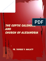 The  Coptic Calendar and Church of Alexandria