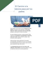 BIODESCODIFICACION El Camino a La Abundancia Pasa Por Tus Padres