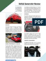 DRIVOBLOG® | FIGO Initial Owership Review