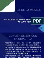 Didactica de La Musica Rbk