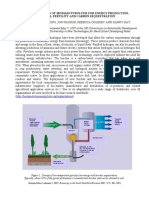 Utilization of Biomass Pyrolysis for Energy Production, Soil Fertility and Carbon Sequestration