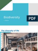 biodiversity liz rayner