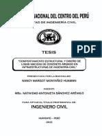 Tesis sobre metodos de dimensionamientos en hormigón armado