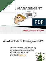 Fiscal Management