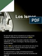 losmovimientosdelartevisualcontemporaneolosismosoct2012-130131111603-phpapp02