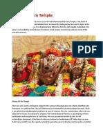 Bhadrachalam Temple Content (1)