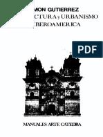 GUTIERREZ, Ramón - Arquitectura y urbanismo en Iberoamérica