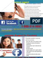 Do you know about Facebook Phone number? 1-888-514-9993