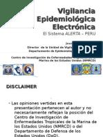 Sistema de Vigilancia Electrónica ALERTA de las FF.AA.