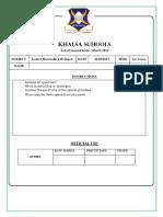Year 9 Science Feb Exam all.pdf