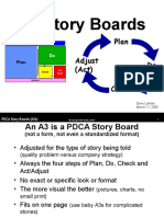 A3 PDCAStoryBoards Lean