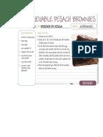 Pesach Brownies