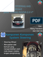 System Steering and Brake Riang