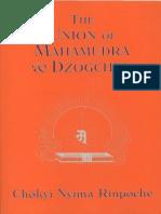 Chokyi Nyima Rinpoche the Union of Mahamudra and Dzogchen