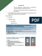 Resumen Antropometría