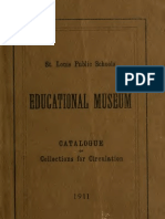 (1911) Catalogue of the Saint Louis Educational Museum