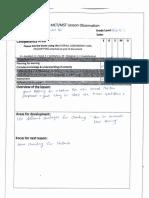 letter h evaluation