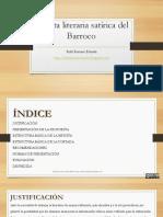 Revista Literaria Satírica Del Barroco