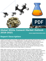 Global White Cement Market Research Sample 2016 - 2021