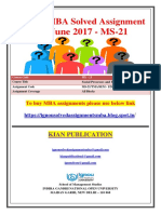 MS-21 Jan June 2017
