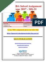 MS-21 Jan June 2017