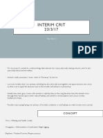 Interim Crit Presentation