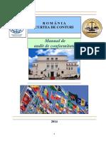 Manual de Audit de Conformitate