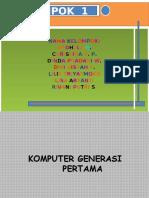 Komputer Generasi Pertama