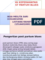 Ppt Post Partum Blues