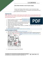 Procedure to Open PLT WC