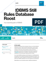 Why RDBMS Still Rules Database Roost