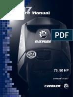 2007 Evinrude Etec 75 HP Service Manual