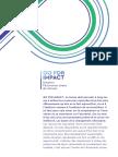 GO for IMPACT Dessiner l'économie suisse de demain