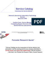 IT Service Catalog-Cynthia Caton