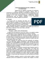 Entrega 2 - Resumen Unitatis Redintegratio