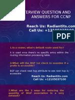 CCNP Online Training