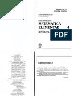 Fundamentos da Matemática Elementar 4 - Sequencias, Matrizes, Determinates e Sistemas (Exercícios Resolvidos).pdf