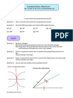 Construction Bisectors Exercise 72 78 PDF