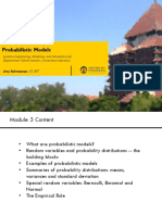 03 - Review of Probabilistic Models