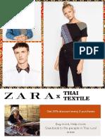 zara x thai textile