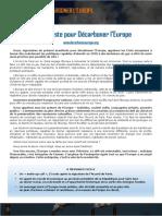 2017 03 21 Manifeste Pour Décarboner LEurope