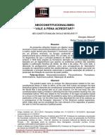 Abboud, Oliveira_2015_Neoconstitucionalismo vale a pena acreditar_Constituição, Economia e Desenvolvimento Revista da Academia Brasileir.pdf