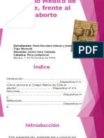 Penalización Del Colegio Médico de Chile.