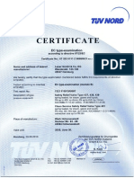 CE-TUEV Baumusterprüfung Type 437 438 439 481 E